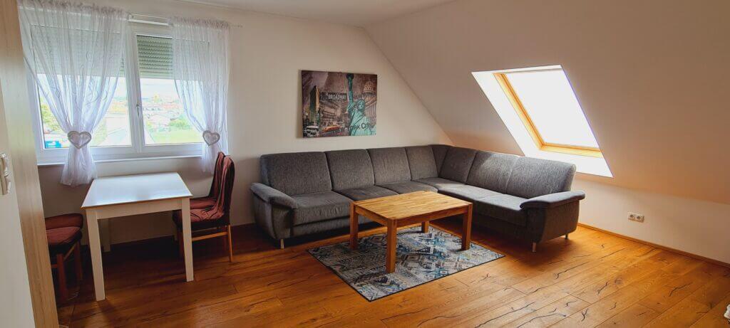 Apartment Deluxe Wohnzimmer Brunn am Gebirge
