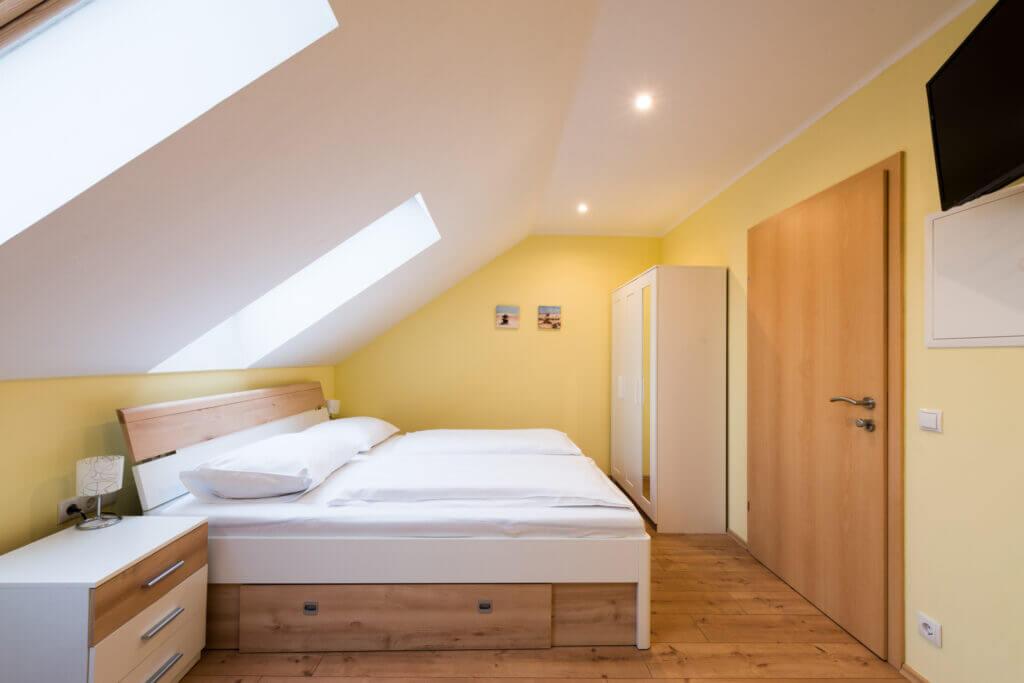 Doppelbett 2 Pension Hössl