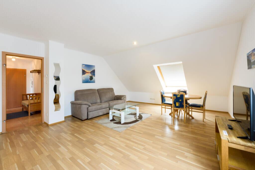 Apartment 1 Wohnzimmer Brunn am Gebirge