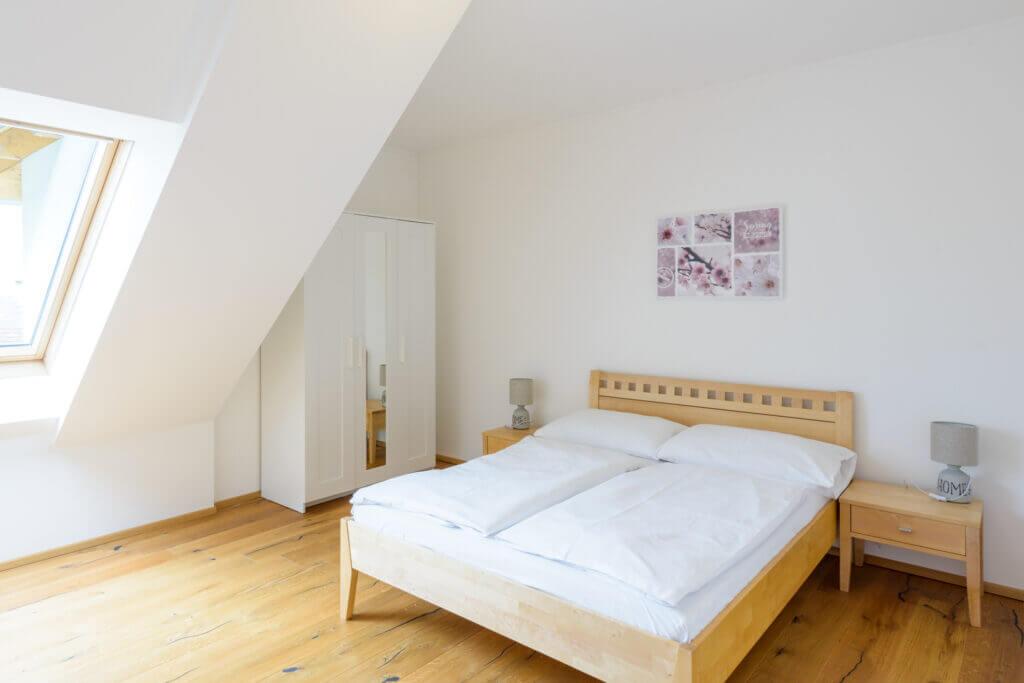Apartment Deluxe Schlafzimmer Brunn am Gebirge